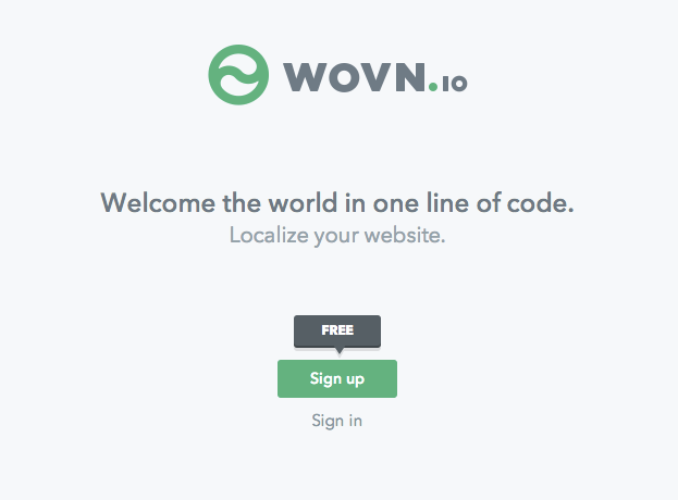 サイトを多言語化できるWovnを触ってみた