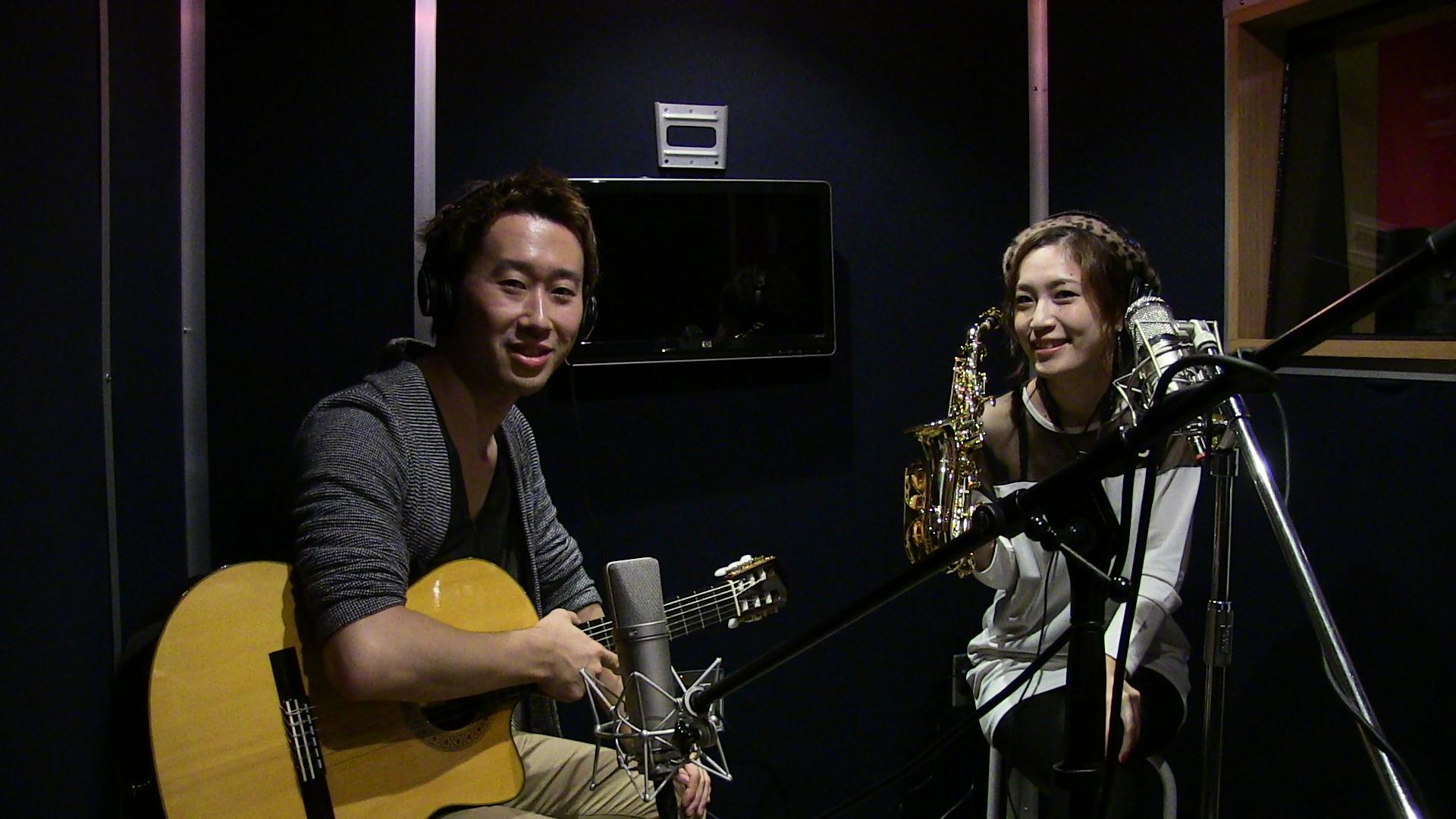 寺地美穂さんと録音しました!