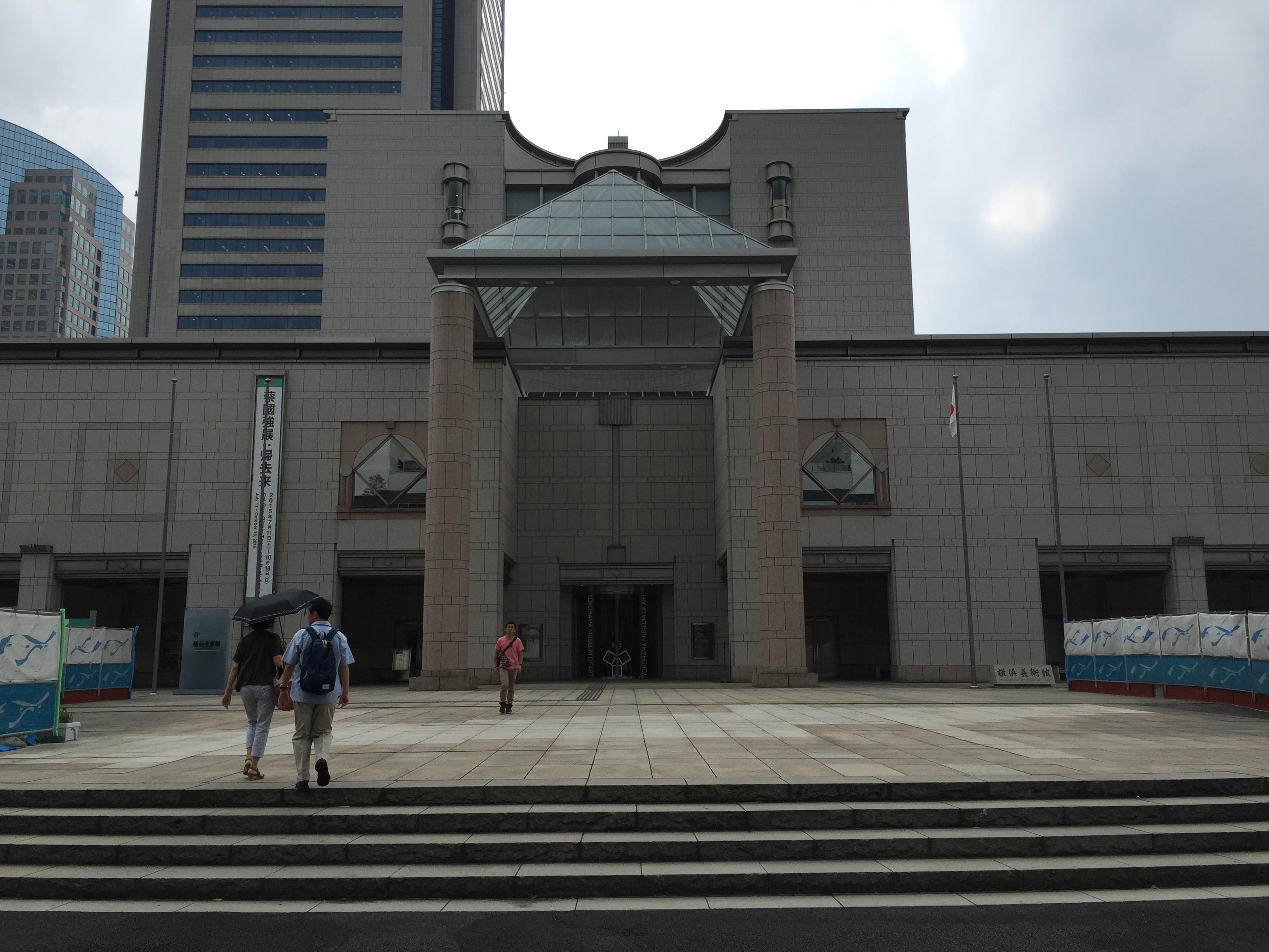 横浜美術館様の閉館放送リニューアル